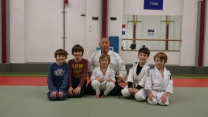 sensei met jongeren