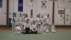 Aikido jeugd examen december 2016